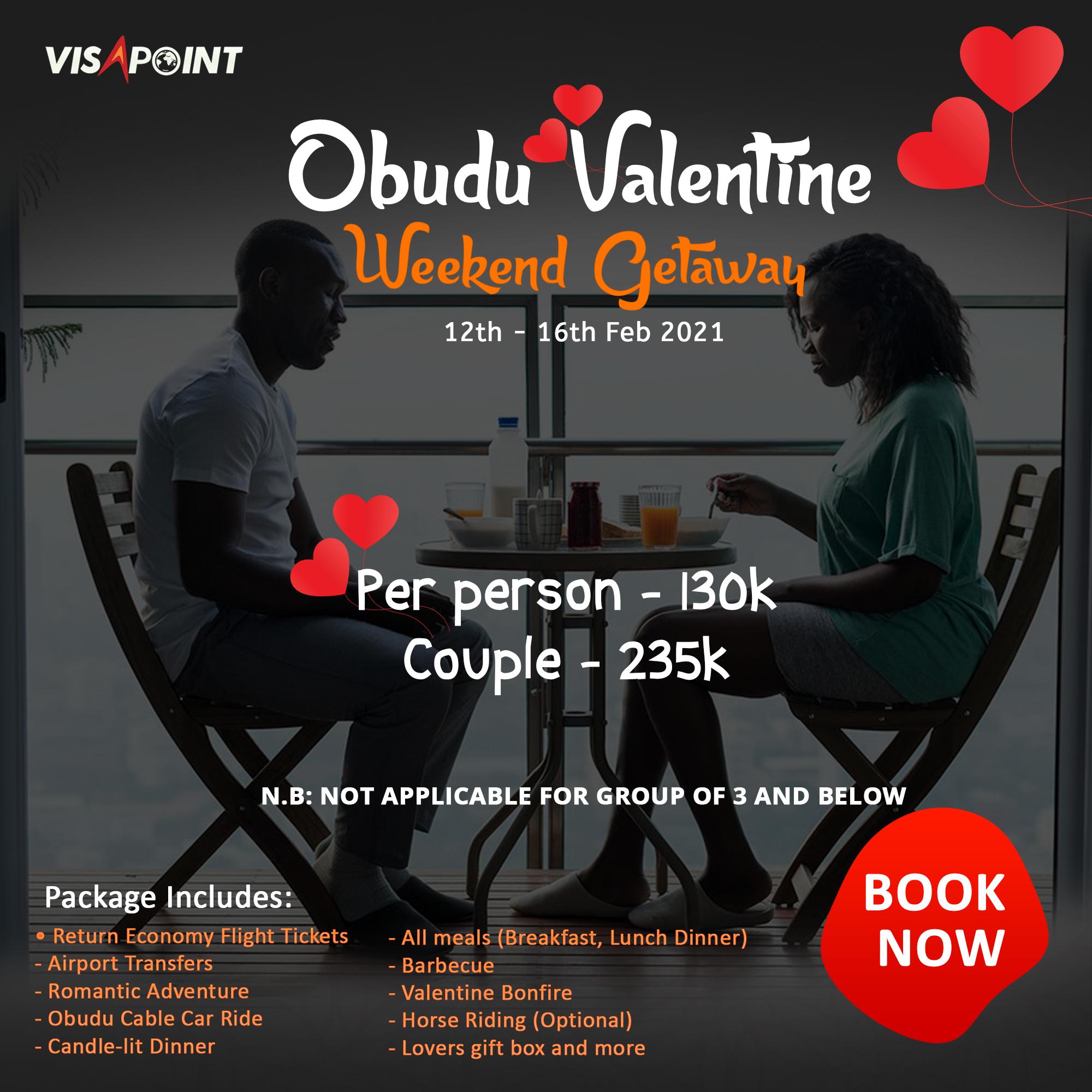Obudu Valentine Weekend getaway