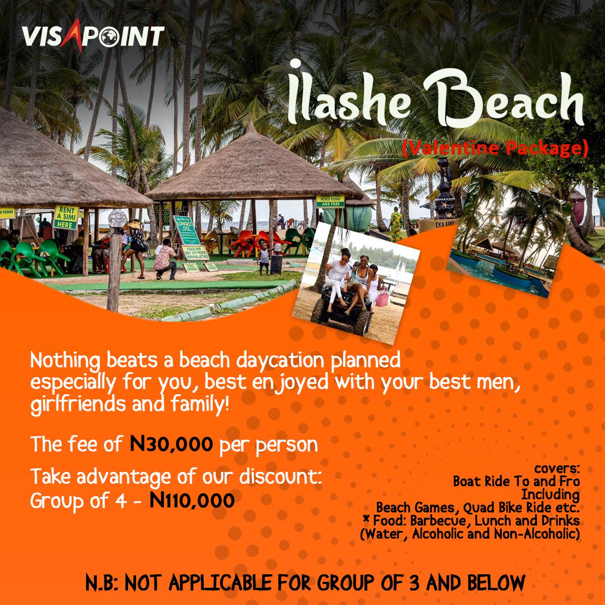 Ilashe Beach (Valentine Package)