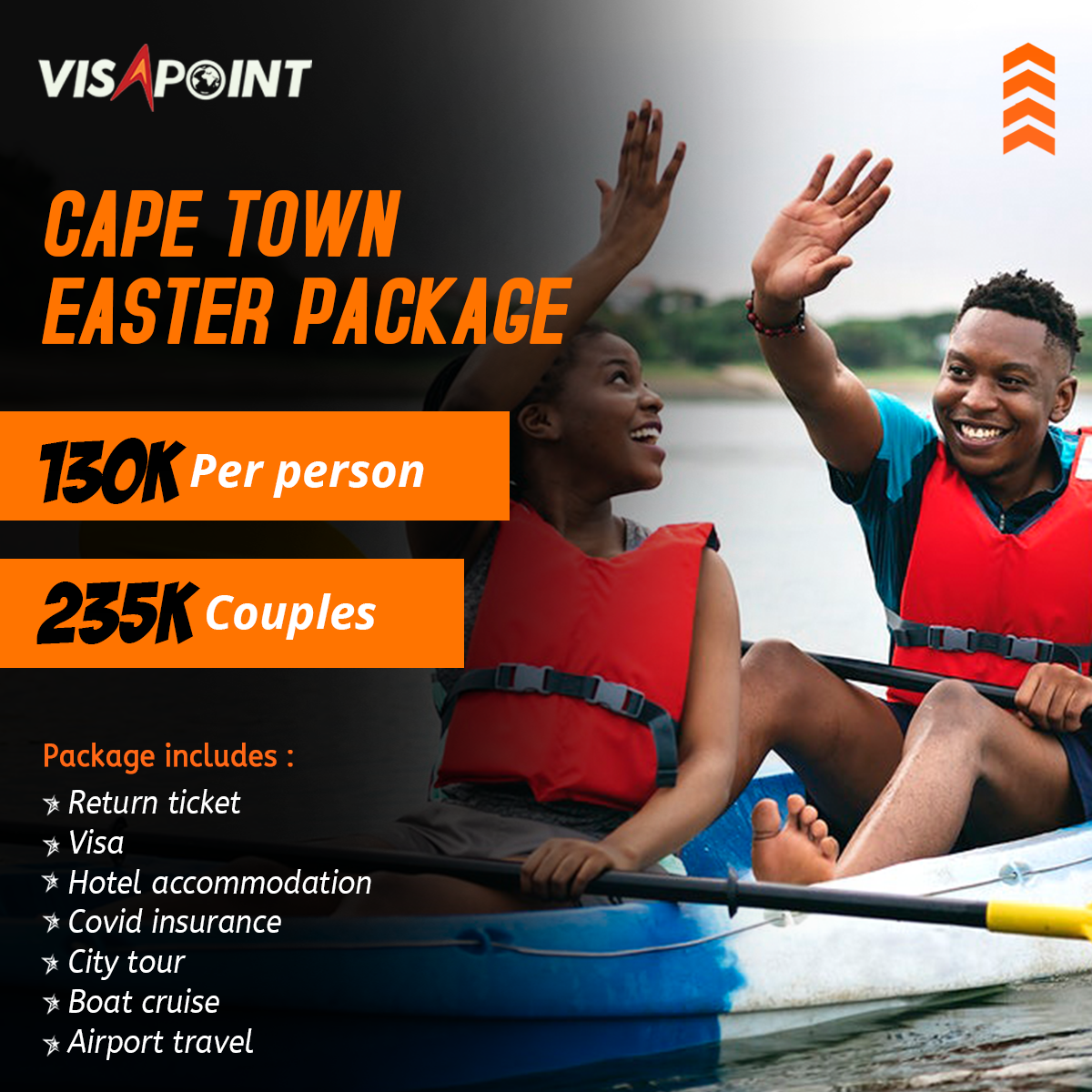 Cape town Easter Package
